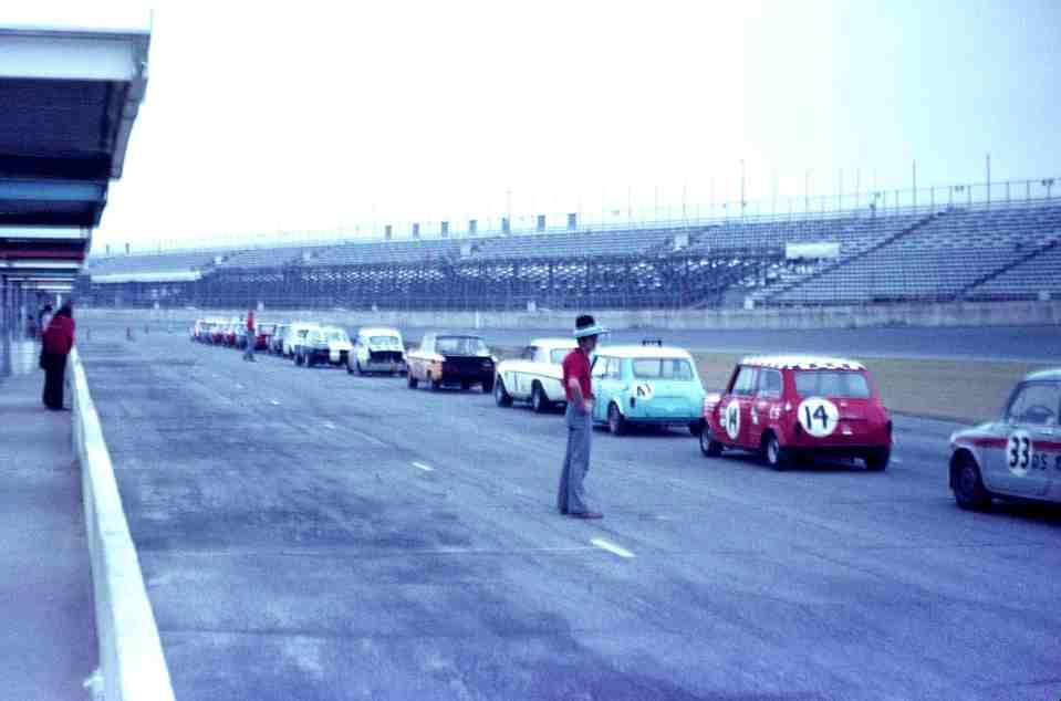 Daytona Start Order