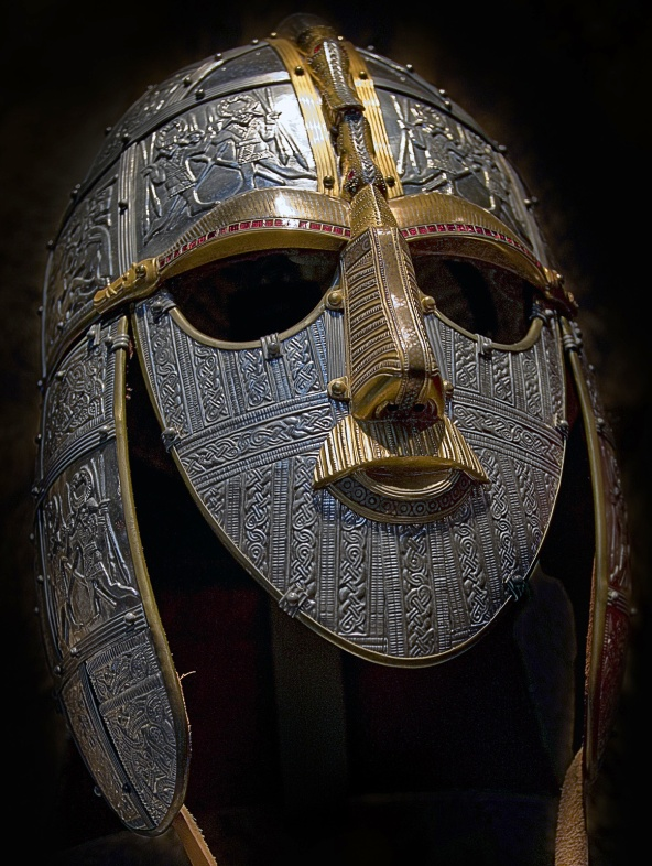 Modern Re-creation of Anglo-Saxon Helmet